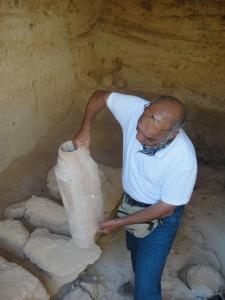 ALEXANDRIE graftombe Osiristempel te Abu Sir
