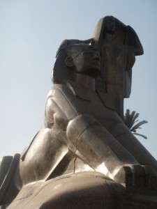 CAIRO Mahmoud Mokhtar sculptuur Egyptes Renaissance