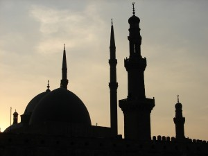 CAIRO Middeleeuwse (Islamitisch) gezicht van Cairo, de Citadel