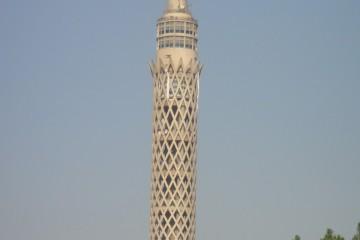 CAIRO eiland  El-Gezira, de Cairotoren