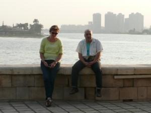 CAIRO eiland El-Roda, zuidelijkste punt