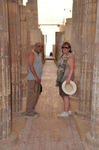 CAIRO piramidegebied van Saqqarra