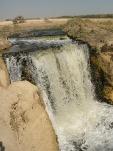 FAYOUM Wadi el-Ryan, waterval