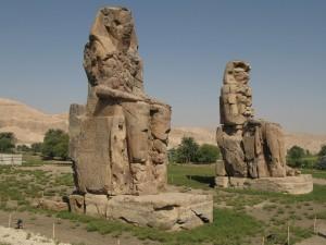 LUXOR Westbank, kolossen van Memnon