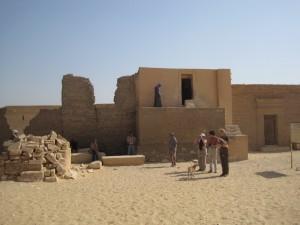 MIDDEN EGYPTE Tuna el-Gebel, graftombe van Isadora