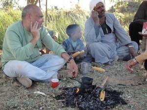 OASE EL-CHARGA op bezoek bij een boer