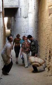 OASE EL-DACHLA middeleeuwse stad El Qasr