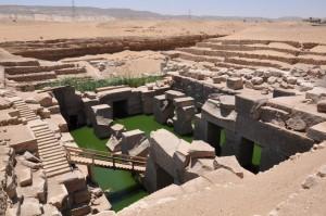 ABYDOS het Prehistorische Osirion