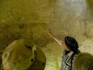 ABYDOS tempel van Seti I koningslijst
