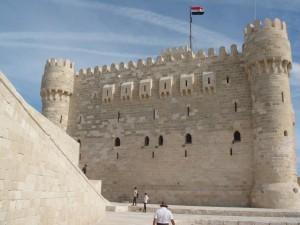 ALEXANDRIE Fort van Qaitbay