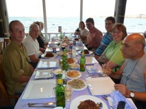 ALEXANDRIE dineren aan de Middellandse Zee
