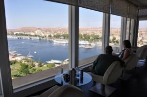 ASWAN panorama vanaf Movenpick hotel