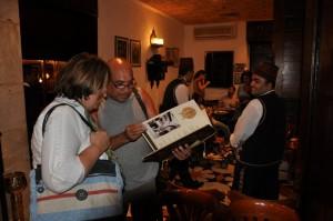 CAIRO menukaart Naguib Mahfouz restaurant bekijken