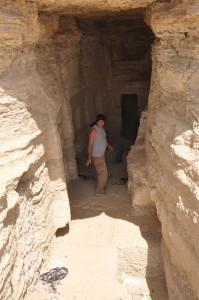 CAIRO piramidegebied van Saqqarra, graftombe