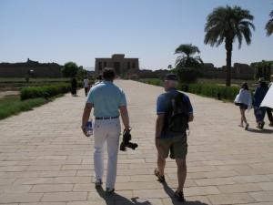 DENDARA op weg naar Hathor tempel
