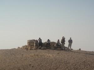 FAYOUM op weg naar piramide van Seila