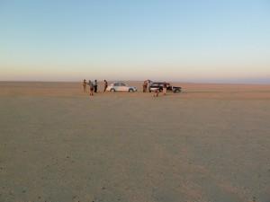 FAYOUM zonsondergang woestijn