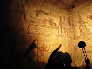 LUXOR Karnak, tempel van Opet geheime kamer