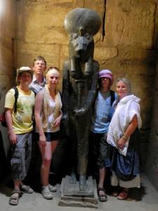 LUXOR Karnak, tempel van Ptah Sechmetbeeld