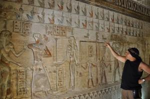 LUXOR Westbank, Deir el-Medina Hathortempel