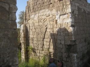 MIDDEN EGYPTE Ashmunein (Hermopolis) tempel van Seti II