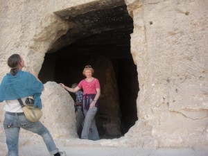 MIDDEN EGYPTE Istablantar (Speos Artemidos) tempel van Hatsjepsoet