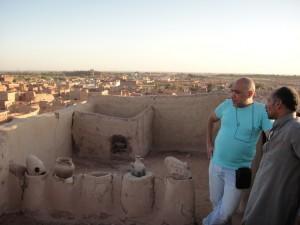 OASE EL-DACHLA middeleeuws dorp Balat (dakterras)
