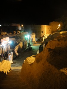 OASE SIWA het oude stadsdeel Shali