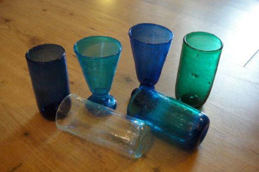 Mondgeblazen glas